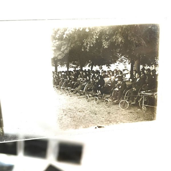 Antique Glass Photo Stereoscope / Stereo Viewer Transparencies / Slides Job Lot